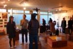 交野のアーティストもぞくぞく出展中!隣町、枚方市には『星ヶ丘洋裁学校』っていうのがあって、そこにはイイ感じのギャラリーとカフェがある!