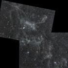 『おおぐま座の分子雲(モザイク)』の画像