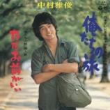 『【#ボビ伝60】中村雅俊『俺たちの旅』動画! #ボビ的記憶に残る歌』の画像