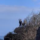 多良岳を歩く、座禅岩から六体地蔵へ