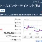 【悲報】オンキヨー株、-50%の大暴落