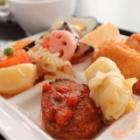『ランチ 大阪梅田 大阪工業大学21F【菜の花食堂】ランチビュッフェをナビオの観覧車を見下ろすテラス席で食べる♪』の画像