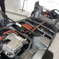Honda e、完全新設計のリア駆動シャシーについて記事を書いています