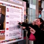 【米国】NYのど真ん中に潘基文国連事務総長への感謝の広告!韓国人が自費制作 [海外]
