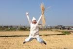 交野産の稲ワラで手作りのしめ縄リースを作ろう!②〜しめ縄修行編〜