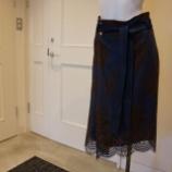 『irise(イリゼ)ウエストリボンレーススカート』の画像