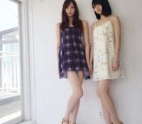 【乃木坂46】BOMBの梅澤美波と中村麗乃が足長くてスタイルいい!