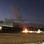 【閲覧注意】神宮外苑のイベントで火事、5歳男児死亡…