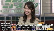 衛藤美彩、照れまくりwww 西武ライオンズ 源田壮亮選手、水曜日の打率が驚異の4割超え!