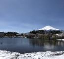 今朝の富士山が美しいと話題