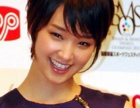 剛力彩芽「CM女王」獲得に感謝(*'▽')