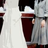 『フルオーダードレスのトワルが完成しました。』の画像