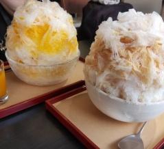 三日月氷菓店のふわふわかき氷♪