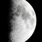 『月齢9.2の綺麗なお月様』の画像