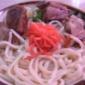 ブラジル食堂 ソーキそば アッサリした白濁スープが美味しい沖縄そば