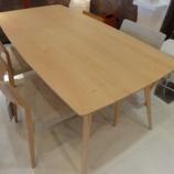 『【2012年9月2日まで飛騨の家具・先行予約会】日進木工のTABLE SELECT・K2 type』の画像