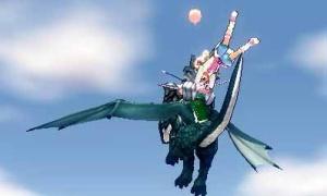 二人乗りタンデムサンダードラゴン⊂(゜∀゜) モラタヨー!!ドラゴンライダーセットがガチムチ