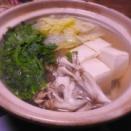 うちごはん・鍋物3連チャン…湯豆腐