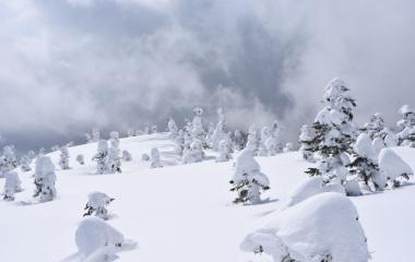 『日本百名山 雪の西吾妻山と雪の安達太良山♩速報』の画像