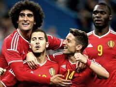 ベルギー代表が半端ない!?FIFAランキング、6年前の66位から1位へ!
