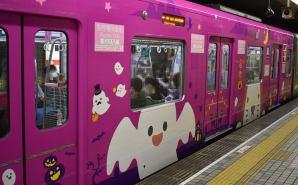 大阪メトロのハロウィーン電車