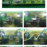 『トヨタ ノア パワーウインド基板の回路修復』の画像