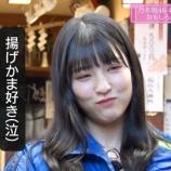 『【乃木坂46】早川聖来、揚げかまを食べたすぎて泣きそうになる・・・』の画像
