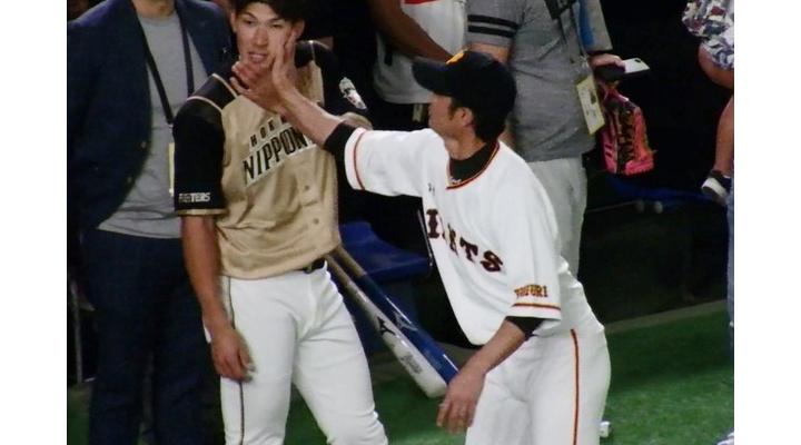 【 画像 】久々の再開した大田泰示に強烈ビンタをする巨人・亀井!