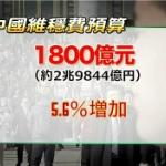 【動画】中国、治安維持費が前年比さらに5.6%増加 !その大部分が官僚のポケットに [海外]