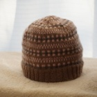 『一週間でできる編み込み模様の帽子』の画像