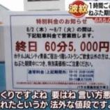 『駐車場の料金1時間5,000円はボッタクリ?需要と供給で値段は決まる。』の画像