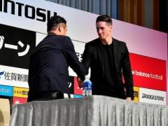 「日本のサッカーを世界に広げていくことに貢献したい!」by フェルナンド・トーレス