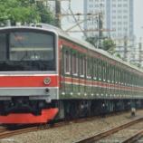 『205系横浜線H28編成全検出場&運用復帰』の画像