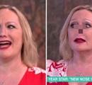 イギリスの生放送番組で女性が突如人工鼻を取り外し物議に 「勇敢だ!」「警告出せよ」の声