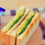 『ポリポリが癖になるたくわんとツナのサンドイッチ』の画像