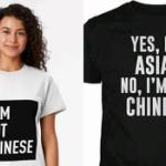 アジア人が人種差別から自分を守るための「私は中国人ではない」Tシャツが登場!