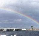 震災9年 東北各地で虹が見られる