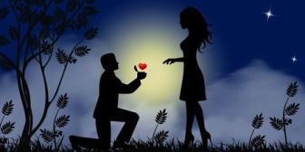 彼女から「プロポーズはその場の雰囲気で答えた」等と言われ、気持ちが少し冷めてしまいました