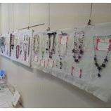 『『Beads & Beads』天然石アクセサリとアフリカンビーズ展はじまり。』の画像