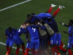 <EURO2016>【 フランス×アルバニア 】試合終了!攻めあぐねていたフランスが終了間際にグリーズマン&パイェがゴール!2-0でフランス勝利!