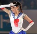 メドベジェワ、エキシビションで美少女戦士セーラームーン披露