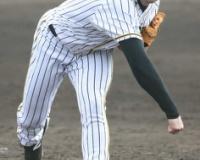 阪神 新外国人エドワーズ、対外試合初登板で最速150キロ スアレスも好投