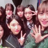 『志田愛佳、最後の『けやかけ』の収録日にその場にいたメンバーと集合写真を撮影!』の画像