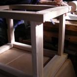 『タモの机・木枯らし』の画像