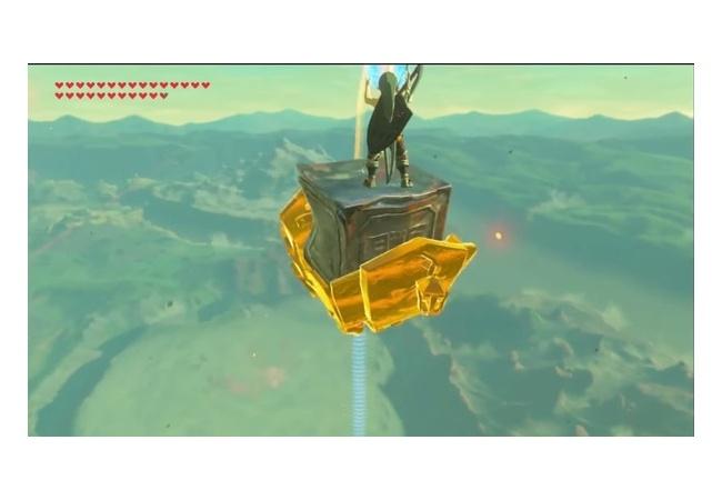 【ゼルダの伝説 ブレスオブザワイルド】永遠に空を飛べる方法がついに見つかる