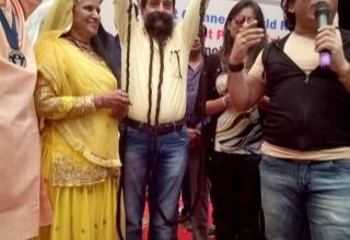 【超驚愕】インド人が47年ヒゲ剃らなかった結果wwwww(画像あり)