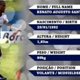 『[J1]清水 SEパルメイラスからブラジル人MFヘナト・アウグストを完全移籍で獲得!! ブラジルやポルトガルでプレー』の画像
