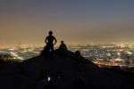 トワイライト交野山!~観音岩からの夜景は美しゅうなってる!~