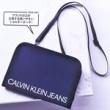 【速報】smart (スマート) 2020年 02月号 《特別付録》 CALVIN KLEIN JEANS(カルバンクラインジーンズ)ショルダーストラップ付きポーチ