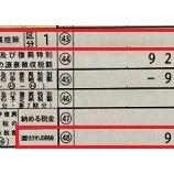『【確定申告】還付金は9996円だった。外国所得税の控除は…』の画像